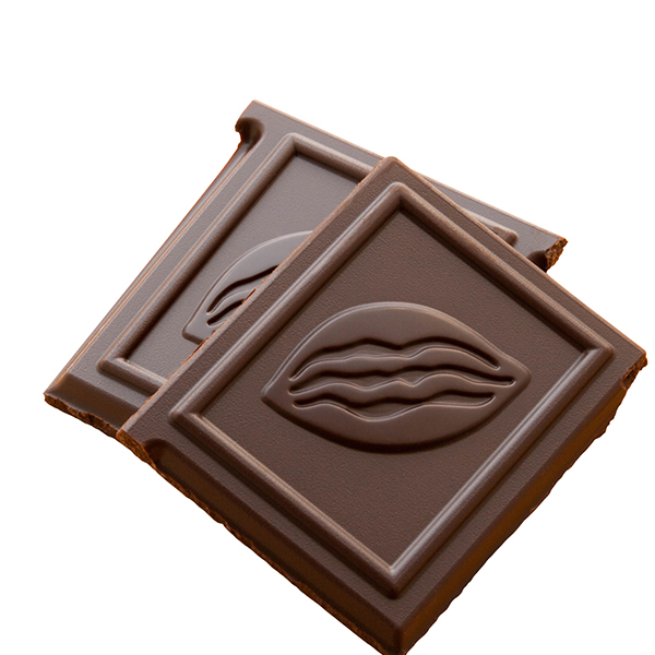 we can customized your message on the chocolate squares